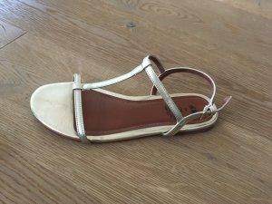 H&M Sandalo oro