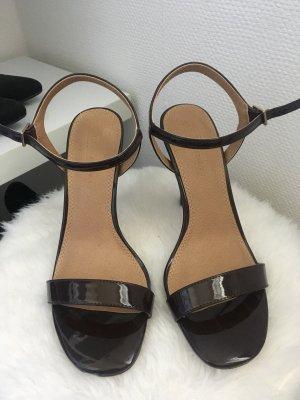 Asos Platform Sandals dark brown