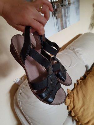 Sandalen gr. 37 schwarz