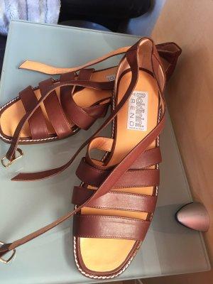 Romeinse sandalen veelkleurig