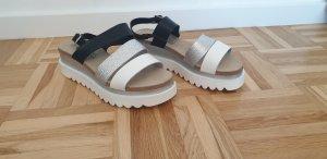 clinic+job dress Platform High-Heeled Sandal multicolored