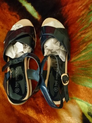 bpc Strapped Sandals blue