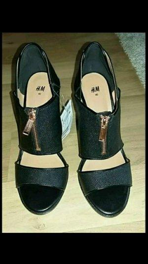 Sandalen High Heels Peeptoe NEU