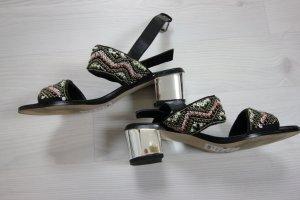 New Look Sandalen zwart-zilver