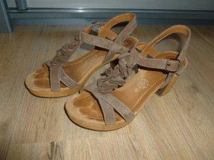 Sandalen hohe Schuhe beige Jenny by Ara
