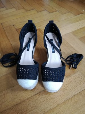 Sandalen im Espadrilles Style (Keilabsatz)