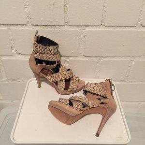 Sandalen im Schlangenlook - MISS SIXTY