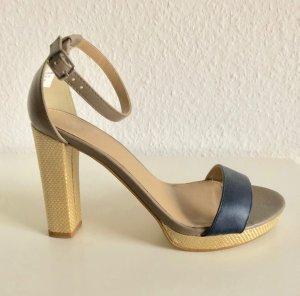Sandalen in Bicolor