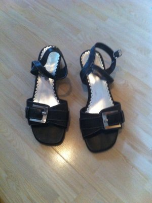 Sandalen in dunkelbraun