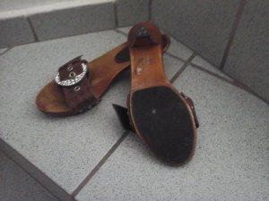 sandalen  in edel braun