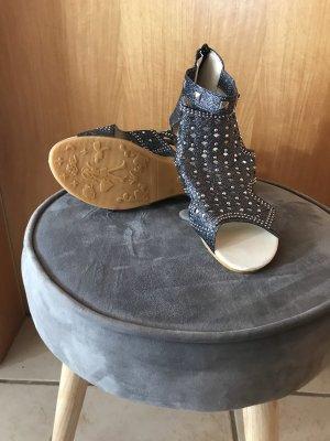 Sandalo romano blu