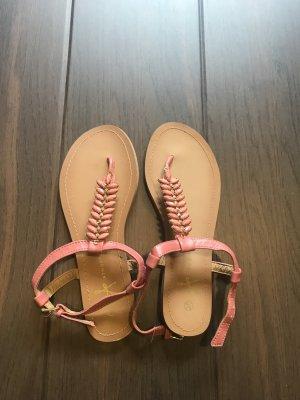 Sandalen in rosa/ Gold , Größe 39 neu