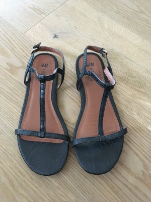 H&M Sandalo nero