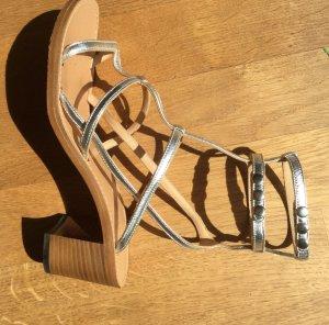 Sandalen in Silber von Isabel Marant, Gr. 38 EU