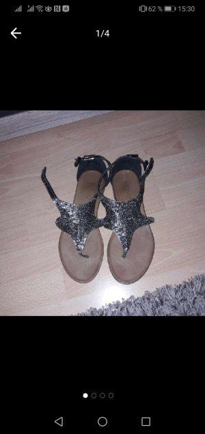 Inuovo Toe-Post sandals bronze-colored