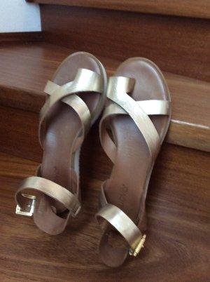 Sandalen Inuovo Grösse 40 goldfarben