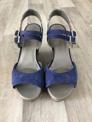 Clarks Wedge Sandals multicolored