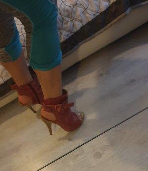Sandalen knöchelang Leder 38