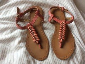 Sandalen lachsfarbend