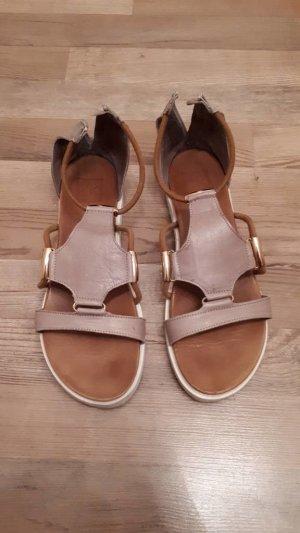 Kim Kay London Sandalo color oro rosa-marrone-grigio