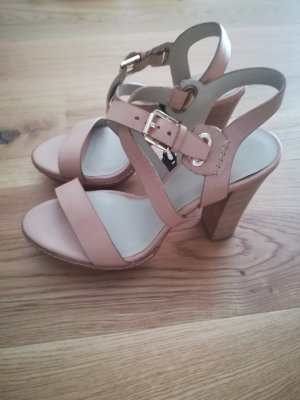 Massimo Dutti High-Heeled Sandals multicolored
