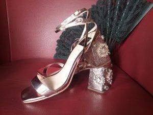 Sandalen Miss Selfridge gold