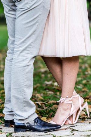 Sandalen mit Absatz / Absatzschuhe rosa/rosé