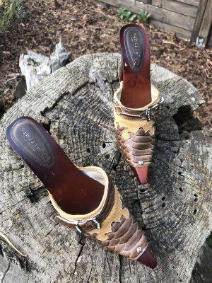 Sandalen mit Absatz Gr 36