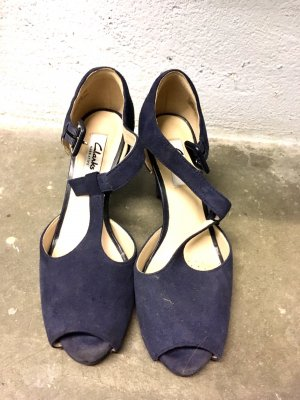 Clarks Outdoor Sandals blue-dark blue