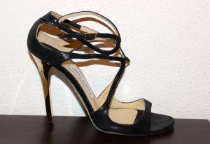 Sandalen mit Absatz von Jimmy Choo. Größe 38,5