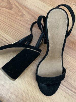 Asos Sandaletto con tacco alto nero