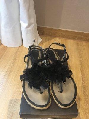 Sandalen mit Bast für den Sommer