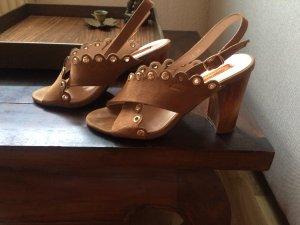 Sandalen mit bequemen Absatz