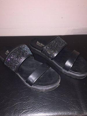 Sandalen mit Glitzer Größe 38