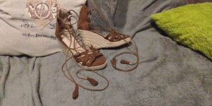 Jumex High-Heeled Sandals brown-dark brown