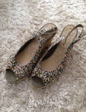 Tamaris Wedge Sandals multicolored