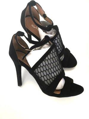 Sandalen mit Netzmuster