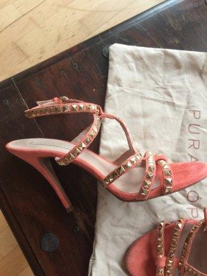 Sandalen mit Nieten von Pura Lopez