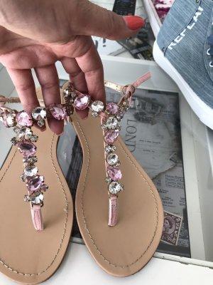 Juliet Sandalo con cinturino rosa chiaro
