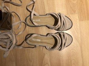 Public Desire Roman Sandals rose-gold-coloured