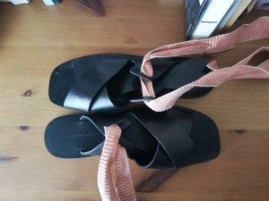 Zara Sandales noir-rosé