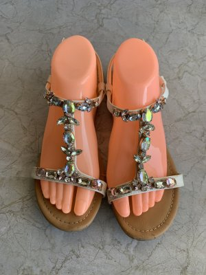 Graceland Roman Sandals multicolored