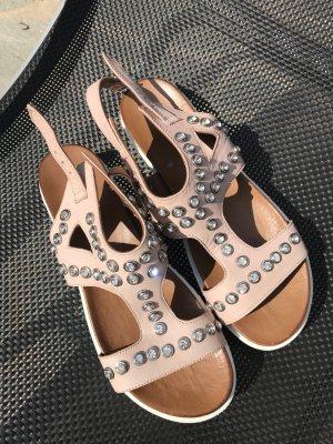 Sandalen mit Strass- Steinen