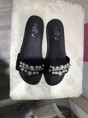 sandalen perlen gebraucht kaufen 119 anzeigen. Black Bedroom Furniture Sets. Home Design Ideas
