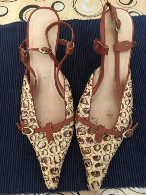 More & More Outdoor Sandals brown-cream