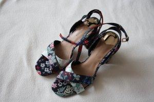 Sandalen, neu, Blumen-Look , Asien-Look,Gr.39