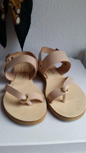 Sandalen Nude Gr. 36