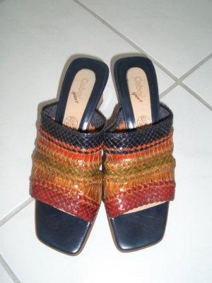 Gabor Heel Pantolettes multicolored