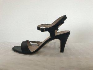 Sandalen * Pumps * schwarz * 39 * Leder * Kiomi
