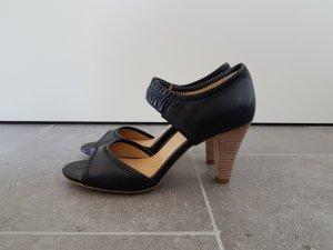 Sandalen / Pumps von Strenesse schwarz Gr. 39